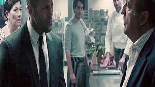 Film still from Steven Knights ' Hummingbird' (Redemption