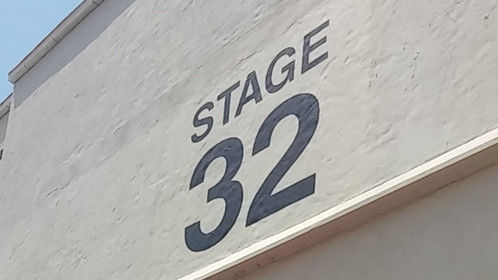 A picture of the actual Stage 32 at Paramount Studios, taken during CineGear in June, 2015. I love the feeling of being on the Paramount lot...it's marinated in cinema history.