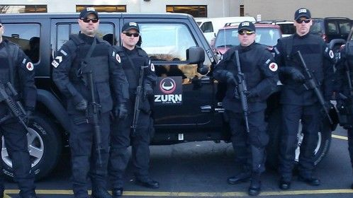 """Rumors of Wars"", with Eric Roberts. Zurn soldier. Grand Rapids, Michigan 2012."