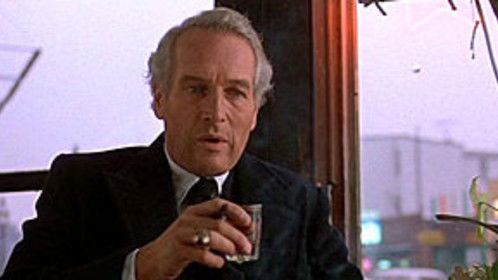 """Paul Newman as Frank Galvin in """"The Verdict."""" Directed by Sidney Lumet. Written by David Mamet. A masterpiece."""