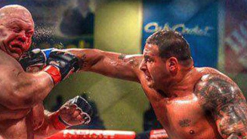 BIG FIGHT ERIC BARRAK WON AND PUT KO BUTTERBEAN