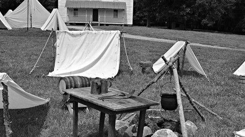 UNION BOUND/ confederate prison camp