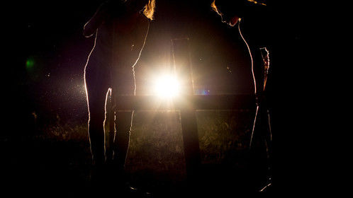 Production photo from our feature film, Last Girl Standing (lastgirlstandingmovie.com)
