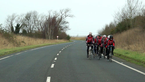 Capture from the shooting for The Wetherby Wheelers in England