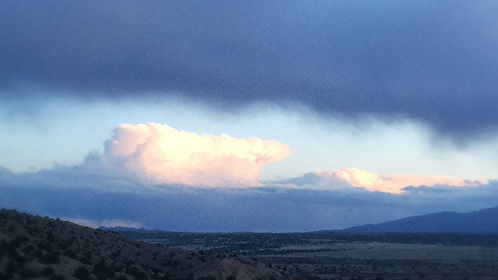 Oh, the ever-changing southwest sky.