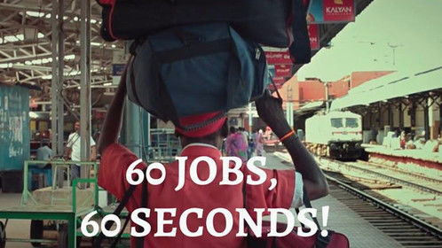 Our recent work for May day - International Workers' Day. We have shown 60 different jobs in 60 seconds. Please check the video and share your comments.  Video Link - https://www.youtube.com/watch?v=H_nVKfjDck8