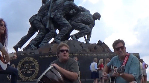LOVE WINS Trio... IWO JIMA - US Marine Corps War Memorial, Washington, DC