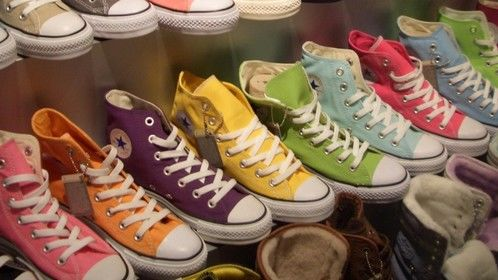 Don't judge a shoe by its color until you've walked a mile in their Chucks.