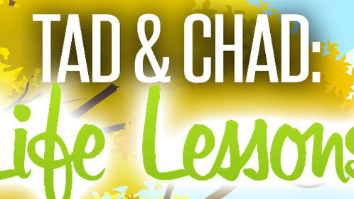 This is a mini-version of my children's book. It's titled Chad & Tad: Life Lessons.  It is now on Amazon!   I am excited!