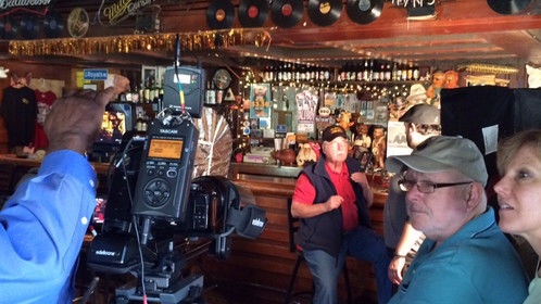Shooting interview with Lindsey Shannon of BB's Lawnside BBQ for short doc - Kansas City Crossroads-A Tale of BBQ and the Blues