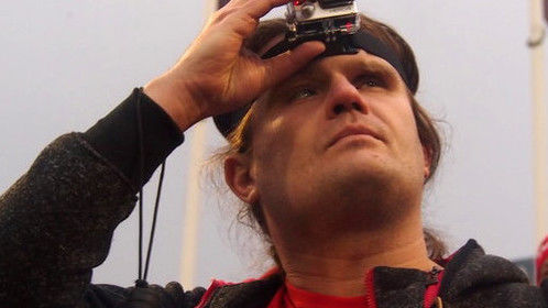 Blind cameraman with GoPro