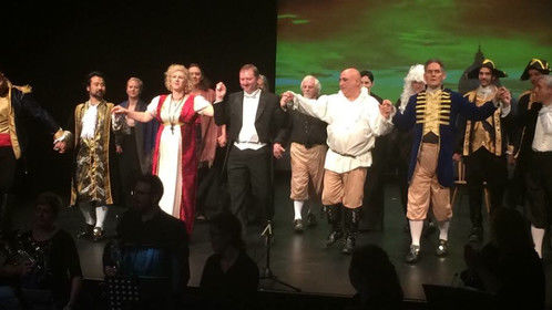 The final curtain call from Yarra Opera's production of Tosca, November 2014.