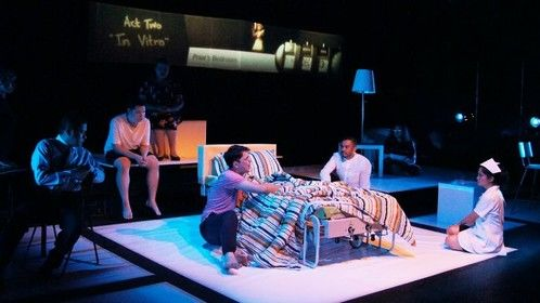 The Malaysian premiere of Tony Kushner's ANGELS IN AMERICA: MILLENNIUM APPROACHES presented by theatrethreesixty.