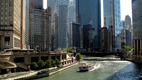 Chicago River - Location for THE KINGS OF HALSTED.