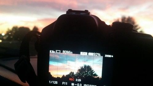 """B-roll for """"One Last Sunset Redux"""""""