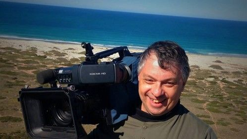 This is me on location filming a Doco for 32 days  around Australia for Black Dog Ride which is a group of motorcycle riders riding for the awareness of Mental Health Issues in our society.
