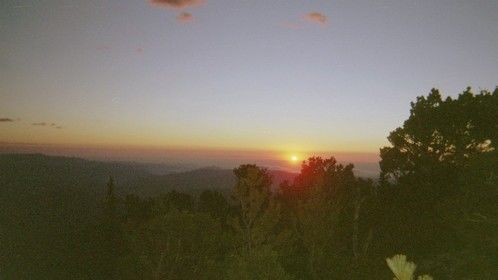 Sunrise View from Rocky's Twin Sisters Peak