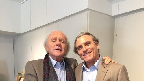 Stunt double Anthony Hopkins