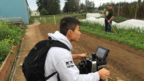 BTS for Growing Veterans short documentary film