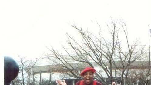 This month marks 11 years since I lost a great friend an coworker. Fred Rerun Berry, dancing pioneer, actor, icon of early  American black television and all-around GREAT human being passed away in October of '03. I still miss him.  I took this photo around 1993. Freddy and I were goofing around at Big Springs park in Huntsville, AL. He was in full Rerun mode that day!