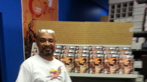 Signing today at Planet Comics