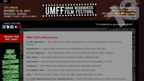 Fragment and Ameriqueno - Official Selection at UMFF 2014!