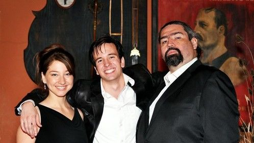Dana Dae, Isaac Medeiros, and Myself at the Premier to Crimson and Clover the Movie.