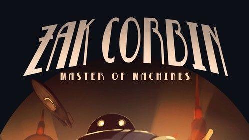 ZAK CORBIN book cover design
