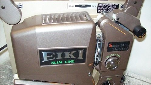 Bought a mint condition Eiki SSL 16mm film projector this week - never used.