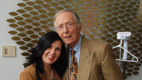 With Bernie Kopell who played the Doctor on The Love Boat. He is featured on The Comeback Kids!