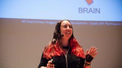 "Talk on ""Singing Geneticists and EPIC Virtual Machinima Opera"". Buffalo, NY."