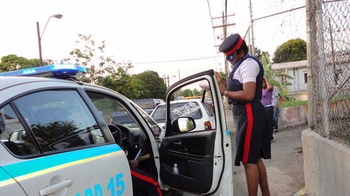 Ride along with Jamaican Constabulary.