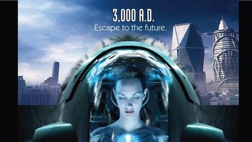 KeyArt for science fiction drama.