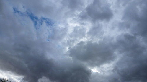 Clouds over Menifee, CA