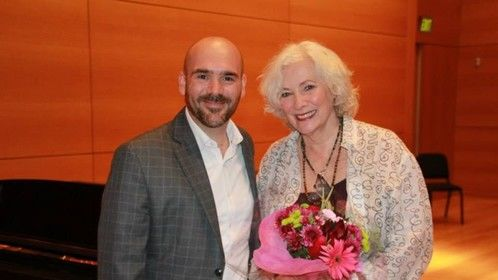 With the Lovely Betty Buckley following the Story Songs Concert