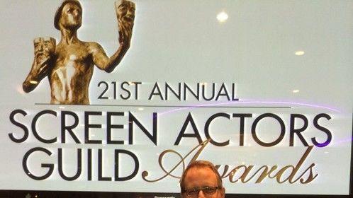 Having a blast at the 21st SAG Awards Viewing Party!!!! #MeliAlexander #DelEngen #actor #producer #composer #scorer