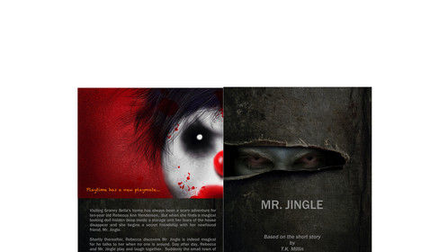 The new cover art has been approved by our editing department.  We're thrilled.  We hope you're scared...