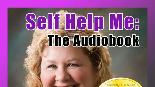 """I just love the mock CD cover they created...for my role as inspirational guru/narrator in """"Self Help Me"""".  Looks pretty real, huh?  (And what a great character name, Coriander Greene.)"""