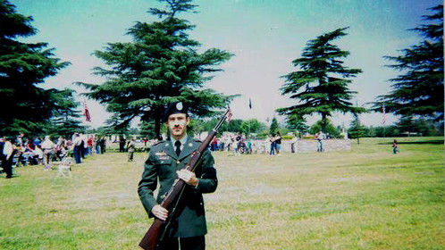 Honor Guard; Valhalla Cemetery.