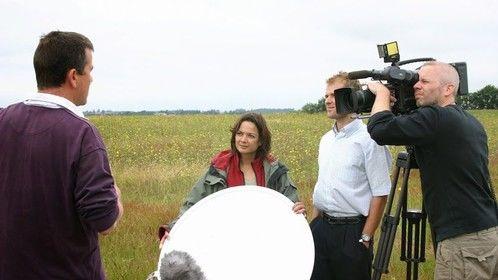 Shooting interviews in Denmark, for a international waterproject.