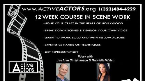 Active Actors Scene Workshop In Hollywood. http://www.activeactors.org