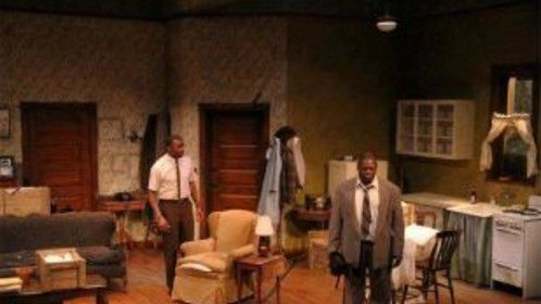 Raisin in the sun performance  of bobo in Juneau Alaska and also toured in anchorage