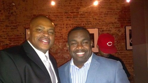 """Hanging out with Comedian Rodney Perry for the season premiere of his show """"OFF THE CHAIN."""""""