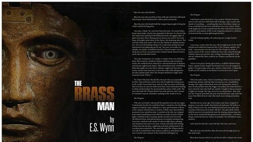 """My steampunk short story """"The Brass Man"""" was recently featured in Clockwork Magazine! Check it out here: http://www.magcloud.com/browse/issue/915872"""