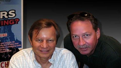 "Michael York and Dain Turner. Remember ""Logan's Run""?"