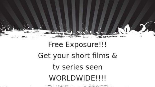 Free exposure for short films and series