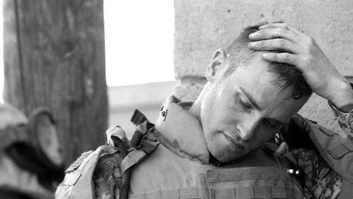 Devil Dogs - Actor and U.S. Marine veteran Greg Duke on the set (behind-the-scenes)