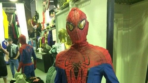 """great time work on a little indie project. """"the death of spiderman"""""""