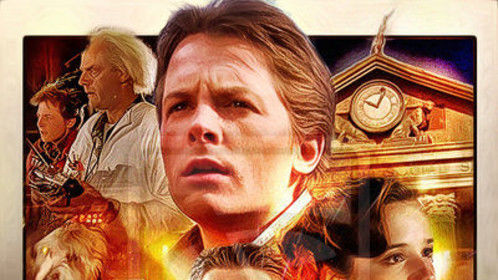 "Tomorrow night for one night only, reliving my past with ""Back to the Future"" on the big screen.  ""Great Scott!"""