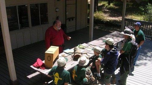Teaching Boy Scouts